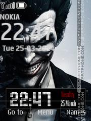 Joker from Batman Comics es el tema de pantalla