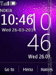 Nokia X Android Widget theme screenshot