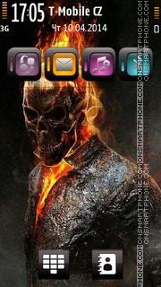 Ghost Rider 06 es el tema de pantalla