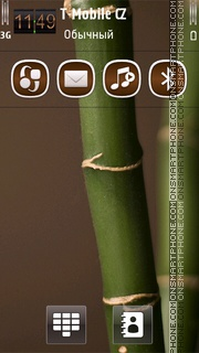 Bamboo HD theme screenshot