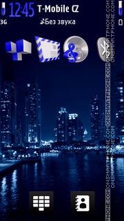 Neon Big City es el tema de pantalla