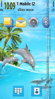 Summer Paradise 01 theme screenshot
