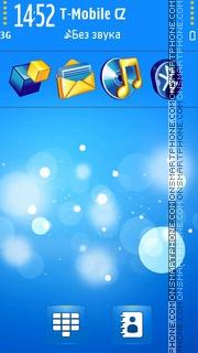 Blue Bubbles 01 es el tema de pantalla