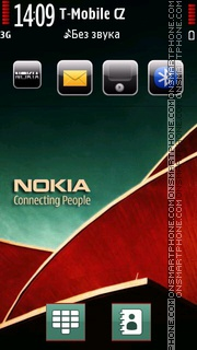 Nokia Series theme screenshot