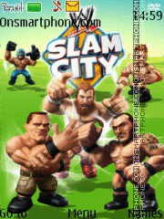 WWE Slam City theme screenshot