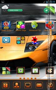 Lamborghini Murcielago 04 tema screenshot