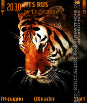 The Tiger es el tema de pantalla