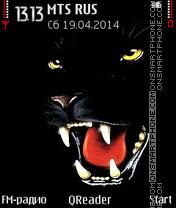 Black-Panther es el tema de pantalla