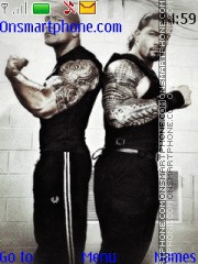 WWE The Rock & Roman Reigns theme screenshot