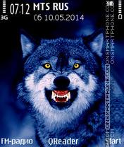 Night Wolf es el tema de pantalla