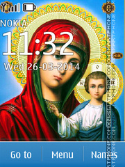 Mary (mother of Jesus) theme screenshot