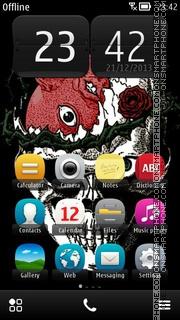 Skull 2015 theme screenshot