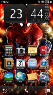 Spiderman 13 theme screenshot