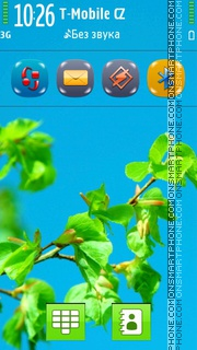 Summer Tree theme screenshot
