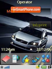 Volvo V50 T5 AWD theme screenshot