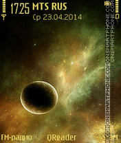 Space Art theme screenshot
