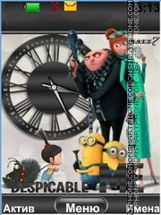 Despicable Me theme screenshot