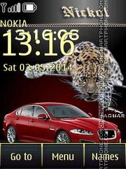 Jaguar 13 theme screenshot
