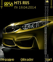 BMW-M4 es el tema de pantalla
