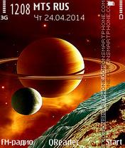 Satellites tema screenshot
