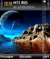 Outer Planet es el tema de pantalla