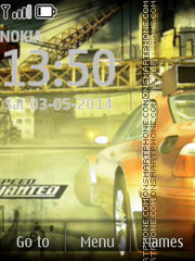 NFS Most Wanted 16 es el tema de pantalla