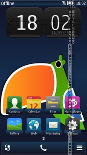 Toucan 02 theme screenshot