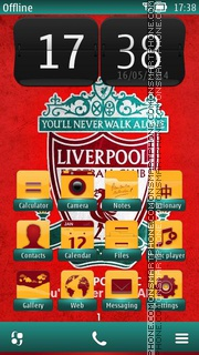 Liverpool 2014 theme screenshot