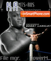 Bobby Lashley theme screenshot