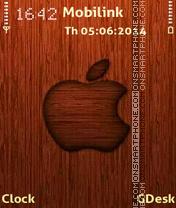 Wooden apple es el tema de pantalla