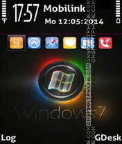 Window7 es el tema de pantalla