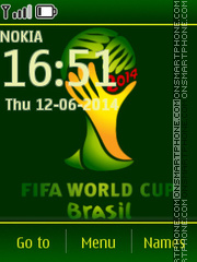 FIFA World Cup 2014 01 theme screenshot