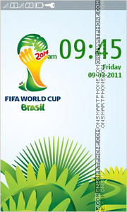 Fifa World Cup 2014 In Brazil es el tema de pantalla