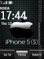 iPhone 5s Locker tema screenshot