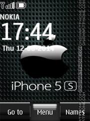 Capture d'écran iPhone 5s Locker thème