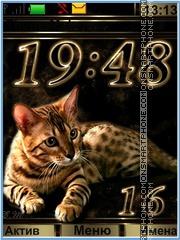 Bengal cat tema screenshot