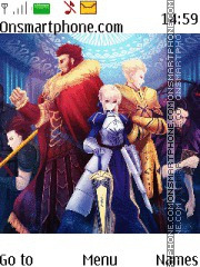 Fate Stay Night theme screenshot