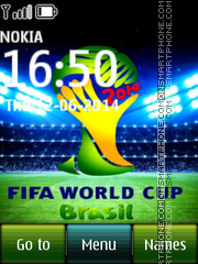 Fifa World Cup 2014 02 theme screenshot