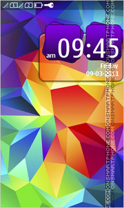 Galaxy Note 03 tema screenshot