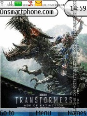 Transformers 4 theme screenshot