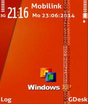 Window Orange theme screenshot