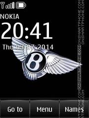 Bentley 16 theme screenshot