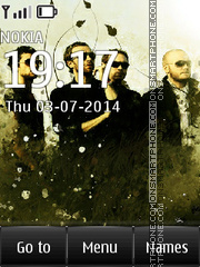 Coldplay 01 theme screenshot
