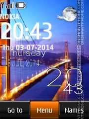 Golden Gate Bridge, San Francisco theme screenshot