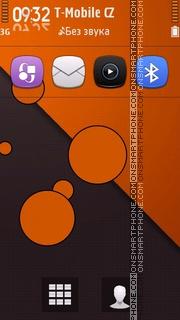 Retro Circles es el tema de pantalla