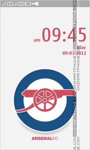 Arsenal FC Full Touch es el tema de pantalla
