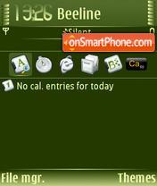 Gold 02 theme screenshot