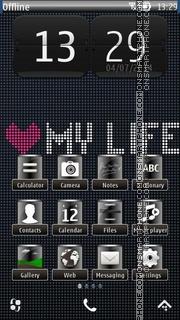 My Life 01 es el tema de pantalla