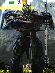 Transformers 4 theme screenshot