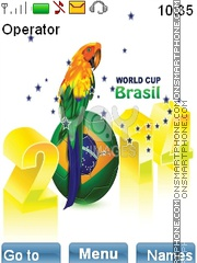WorldCup2014 theme screenshot